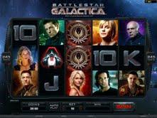 Microgaming casino game : Battlestar Galactica