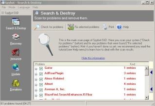 Spybot Search&Destroy, mal connu ...