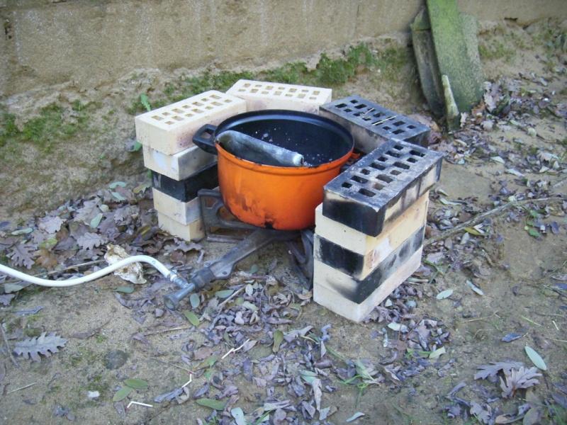 fabrication des plombs carpe trilobes ou autres. Black Bedroom Furniture Sets. Home Design Ideas