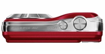 le Fujifilm FinePix AV250 rouge de haut