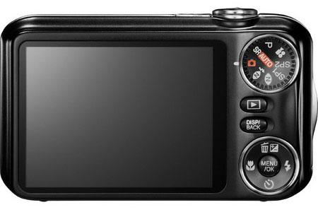 le Fujifilm FinePix JX350 de dos