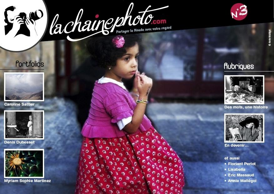 Le numéro 3 du magazine La Chaîne Photo vient de paraître