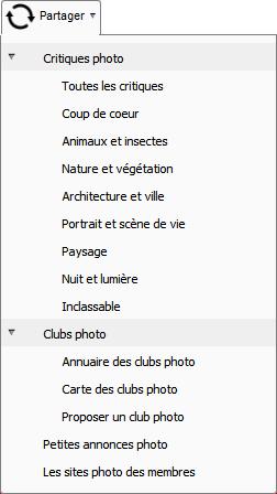 Partager la photo sur Clic-Clac