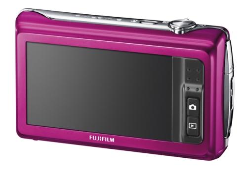le Fujifilm FinePix Z90 rose de dos