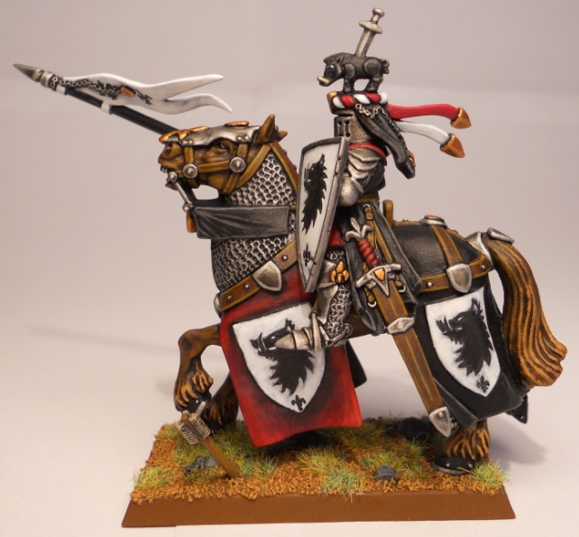 Bret empire les sainctes et mirificques figurines du for Portent warhammer