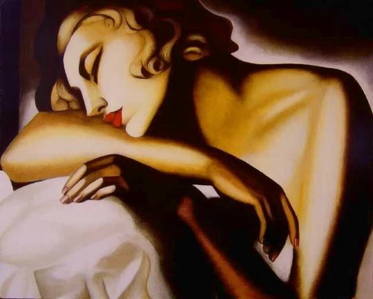 Tamara De Lempicka - Peintre dans Peinture tamara10