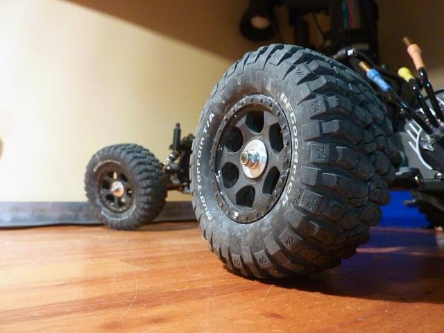 roue pneu roues pneus pour rustler rusty page 2. Black Bedroom Furniture Sets. Home Design Ideas