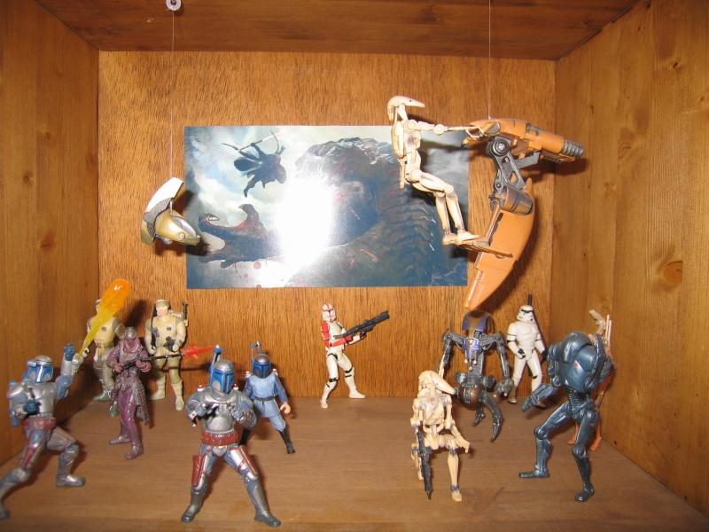 Jouets de droïde de combat