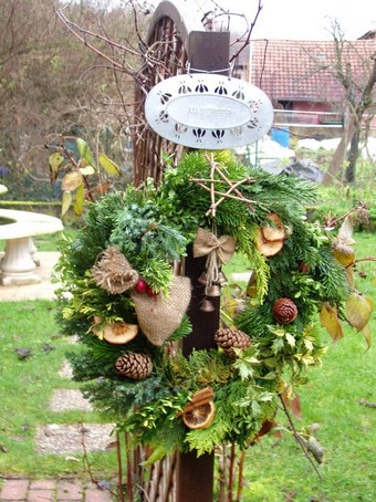 D co exterieure naturelle pour no l en alsace for Decoration de noel en alsace