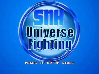 SNK UNIVERSE FIGHTING SCREENPACK by nonokyo & rockzouh