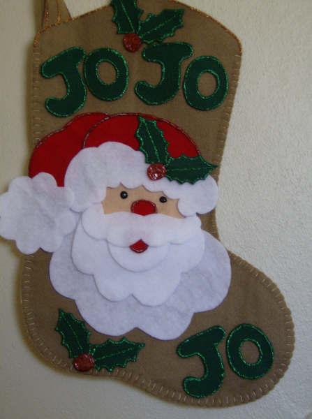 Patrones para botas navideñas - Imagui