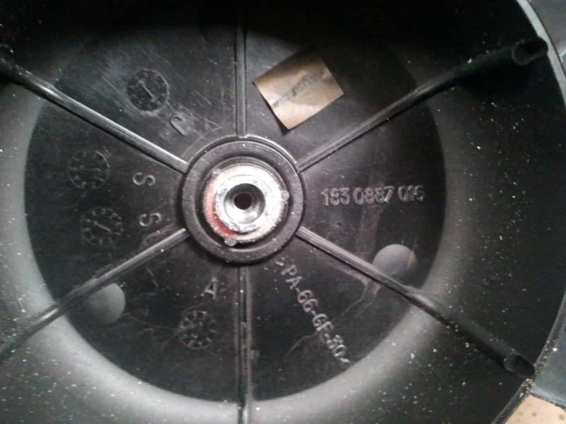 r u00e9solu d u00e9montage motoventilateur radiateur  h u00e9lice