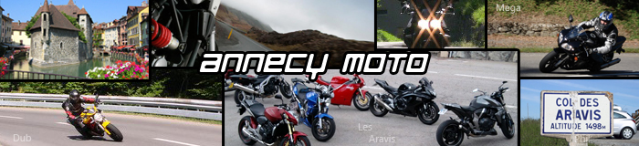 Sorties moto Annecy