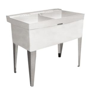 I Got This Model Utility Sink From Home Depot 73 Or 49 For A 22