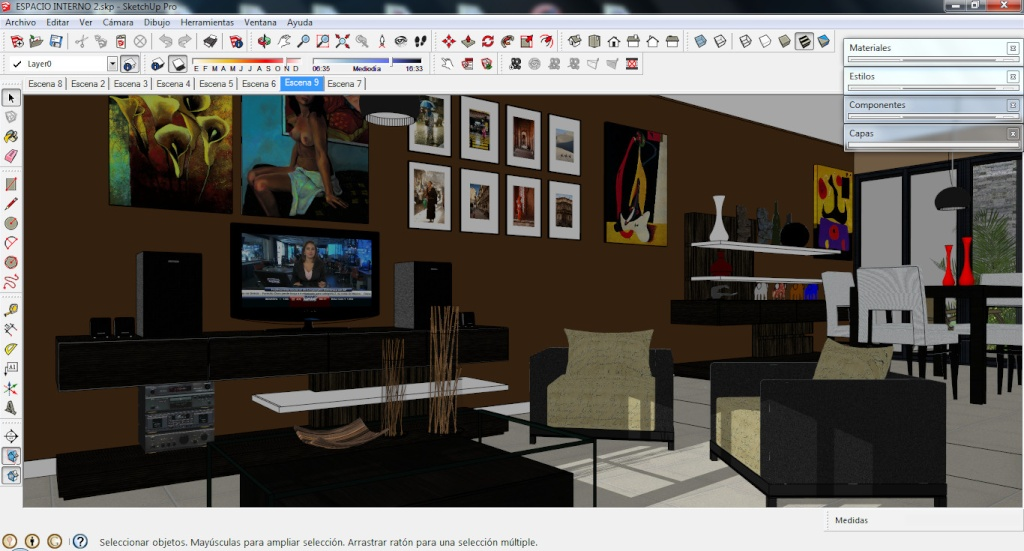 Google sketchup pro 2013 13 eng patch portable for Sketchup 2013