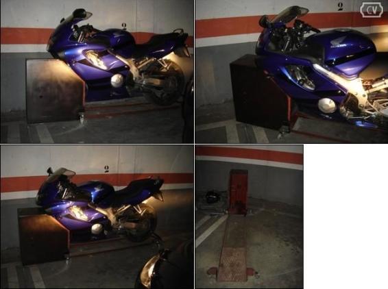 Wilock giratorio aparcar en la plaza de garaje y seguridad antirrobo - Antirrobo moto garaje ...