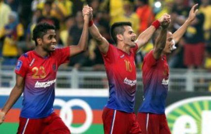 Keputusan Separuh Akhir Piala FA 2013 Pahang Vs Johor DT