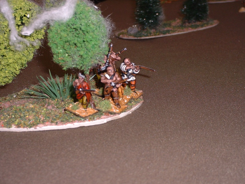 Les indiens des bois attaquent!