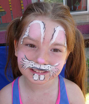 Rabbit Face Painting Ideas Images amp Pictures Becuo