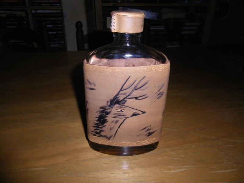 Coureur Des Bois Alcool - flasque a alcool de burck le trappeur
