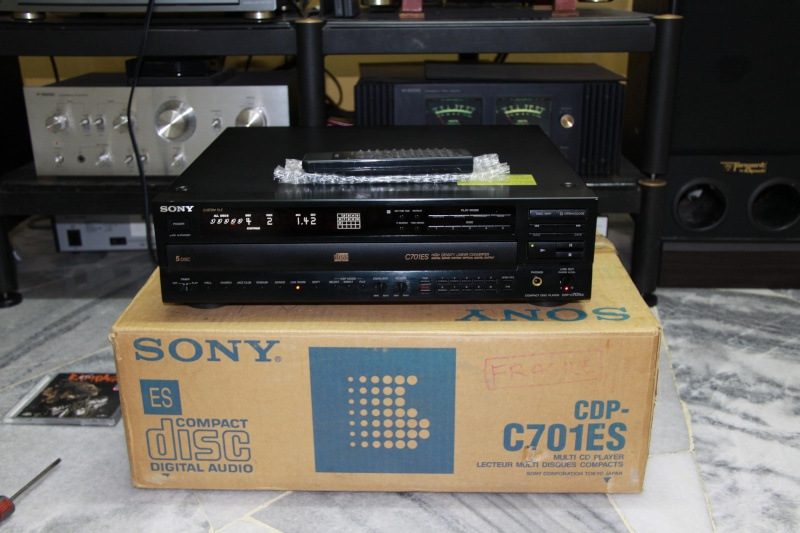 Sony Cdp C701es 5 Cd Changer Sold
