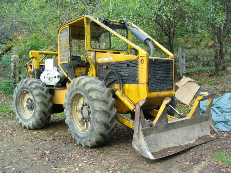 tracteur forestier brimont occasion