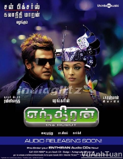 Endhiran (2010) DVDRip - Hindi