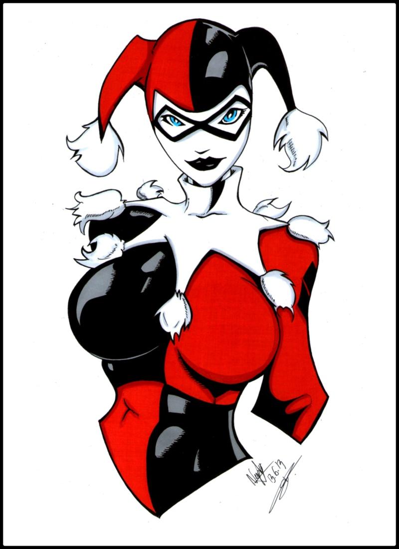 Dessin Harley Quinn Facile Steadlane Club