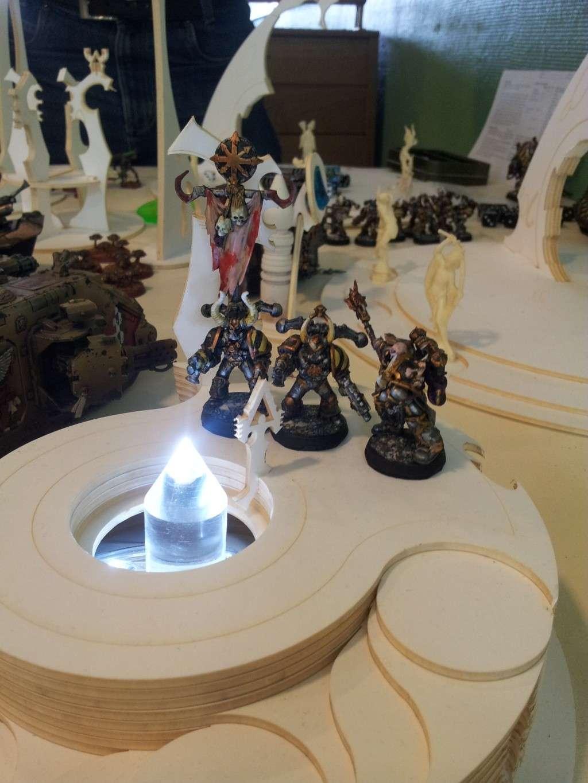 40k table zoneille d cors warhammer forum for Decor 40k