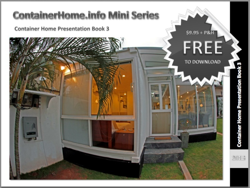 Shipping Container Homes Book Series