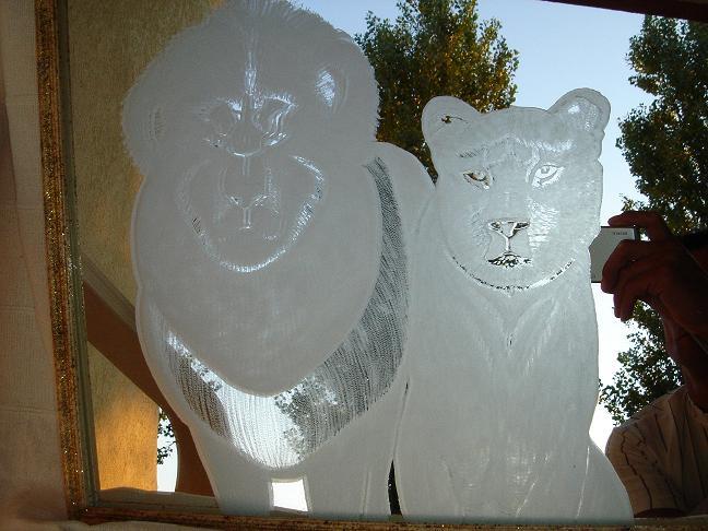 Gravure sur miroir 30x30cm fusion des posts de manu07 for Gravure sur miroir