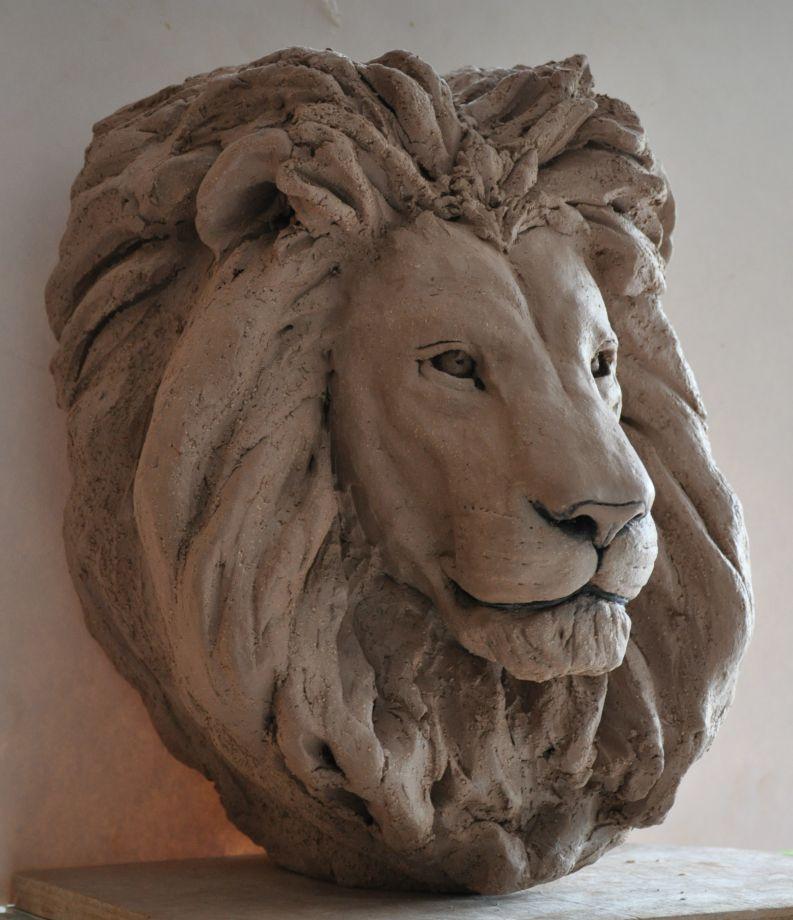 Têtes de lions