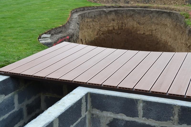 Construction du bassin de yacducati for Bache poisson
