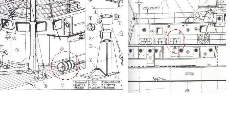 La calypso di cousteau autocostruita su piani museo della for Piani di coperta personalizzati