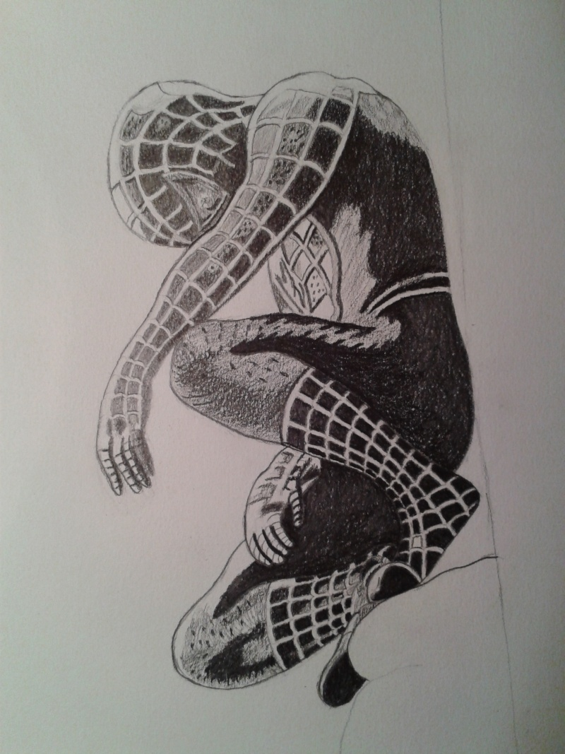 Comment dessiner spiderman - Dessin spiderman facile ...
