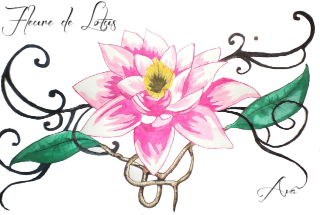 Dessin Fleur De Lotus Tattoo Great Lotus Tattoo Dot Work Sternum