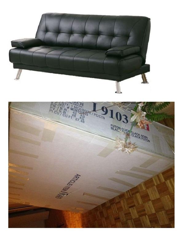 futon fauteuil lit neuf a vendre. Black Bedroom Furniture Sets. Home Design Ideas
