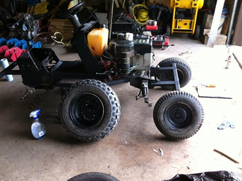 Mtd Front Fenders : Mtd off road romper build page