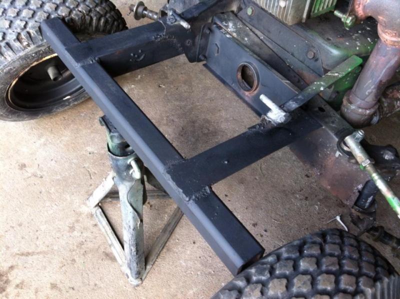 Mtd Tractor Bumper : Mtd off road romper build page