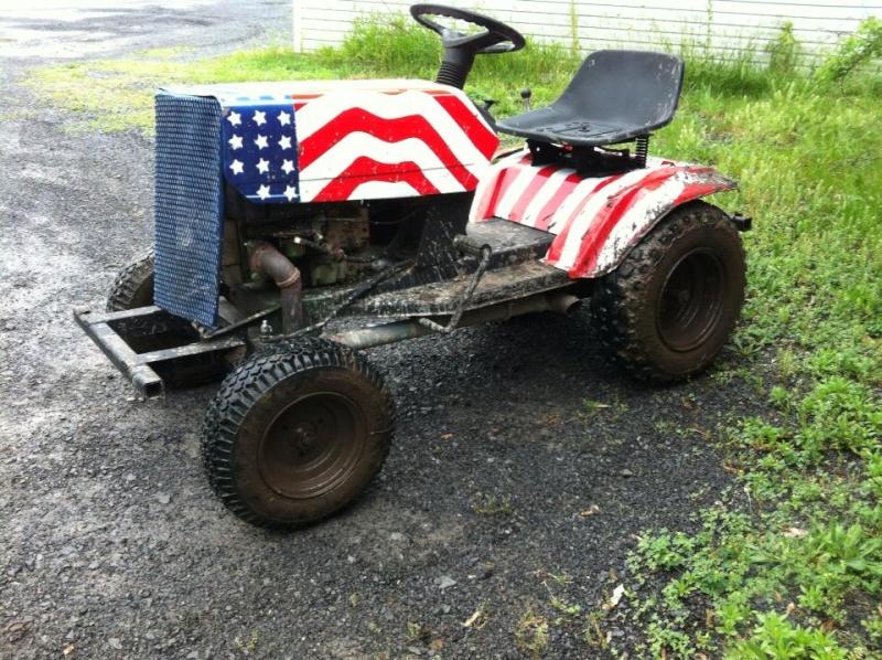 Mtd Mud Mowers : Mtd off road romper build page