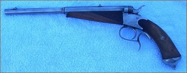 Identification pistolet for Pistolet de salon