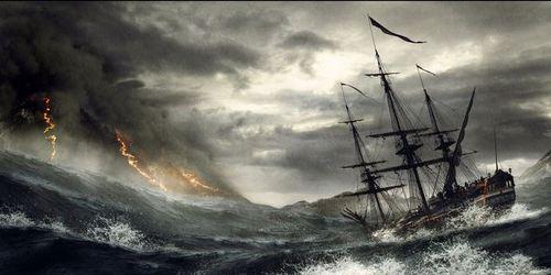 """Résultat de recherche d'images pour """"bâteau pirate tempête"""""""
