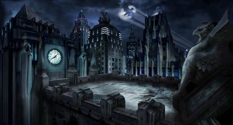 Gotham City sans Batman...